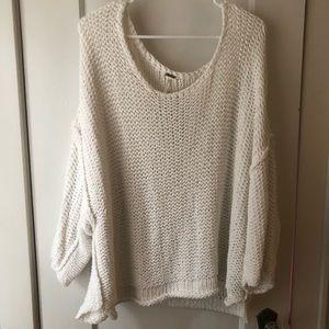 NWOT Free People Knit Sweater